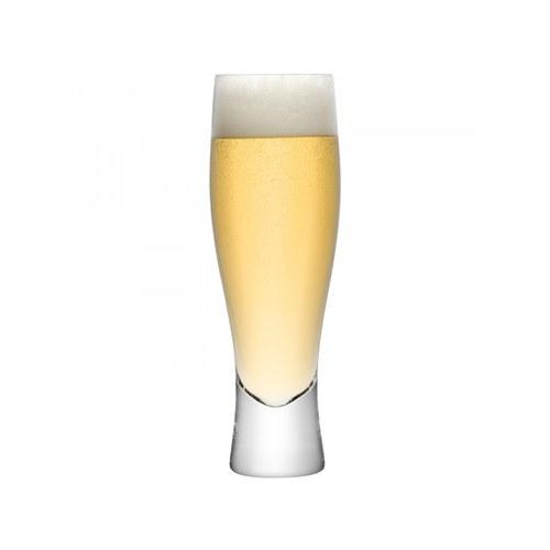 英國LSA 經典酒吧曲線型啤酒杯4入組