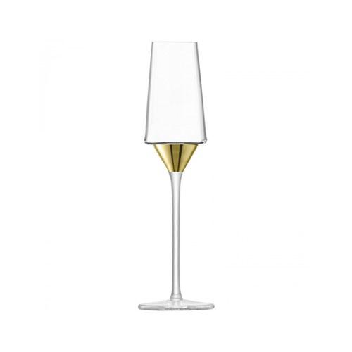英國LSA 奢華金底香檳杯2入組 (金)