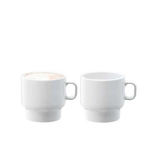 英國LSA 純白日光咖啡杯2入組 (280毫升)