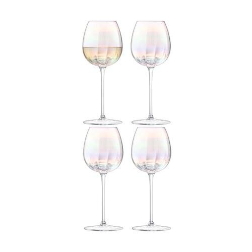 英國LSA 貝殼絢彩紅酒杯4入組 (325毫升)
