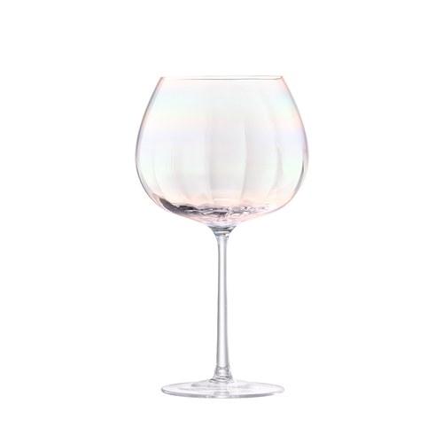 英國LSA 貝殼絢彩紅酒杯2入組 (650毫升)