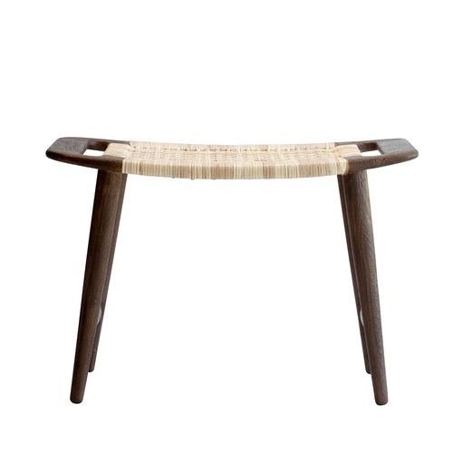 丹麥LeneBjerre 極簡藤織椅凳 (棕)