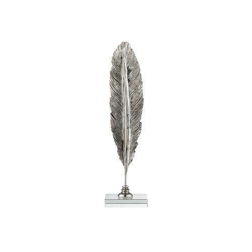 丹麥LeneBjerre 羽毛藝術擺飾 (銀)