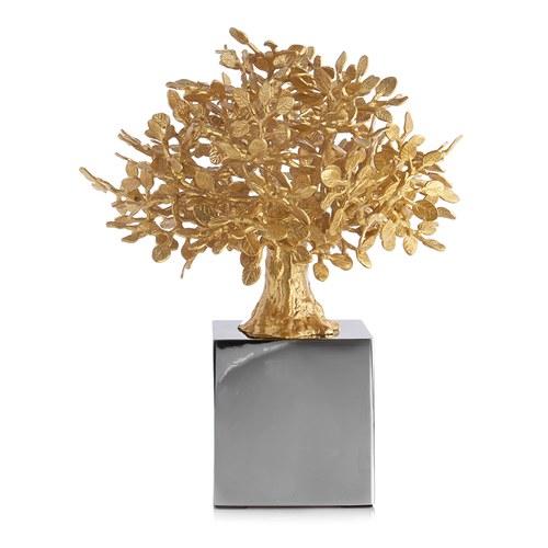 美國Michael Aram 全球限量 智慧招財黃金樹立體雕塑