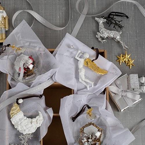 美國MichaelAram工藝飾品 黃金樹十字聖誕裝飾