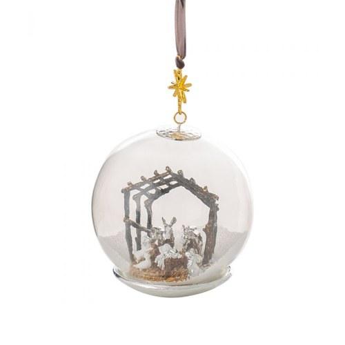 美國Michael Aram工藝飾品 聖嬰誕生球型聖誕裝飾