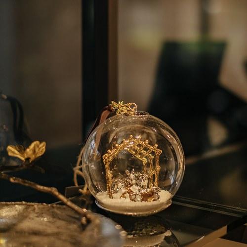 美國MichaelAram工藝飾品 聖嬰誕生球型聖誕裝飾