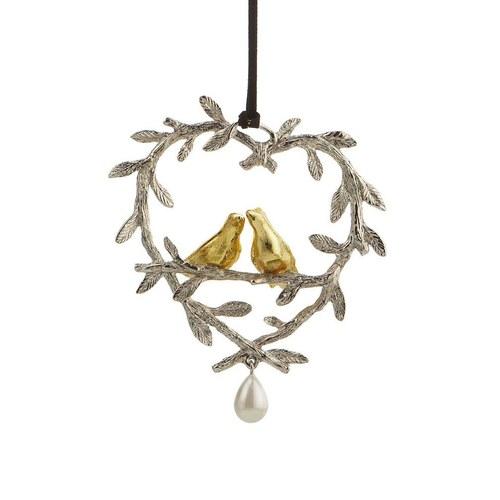 美國Michael Aram工藝飾品 幸福鳥花環聖誕裝飾