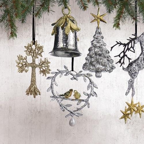 美國MichaelAram工藝飾品 幸福鳥花環聖誕裝飾
