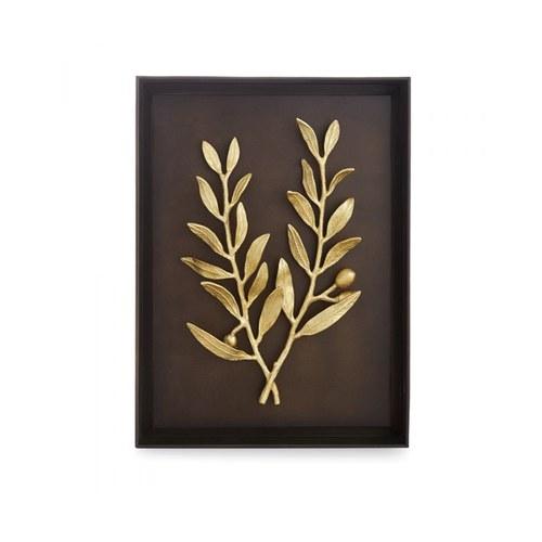 美國MichaelAram藝術掛飾 橄欖枝造型立體壁掛