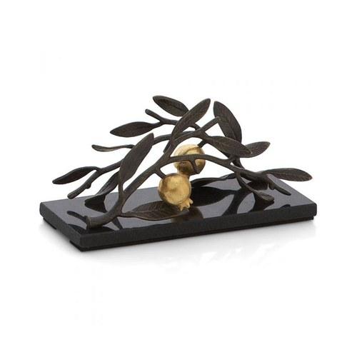 美國MichaelAram工藝飾品 鮮嫩石榴系列立體餐巾架