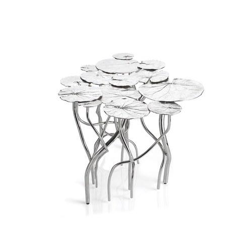 美國MichaelAram工藝飾品 睡蓮池畔系列咖啡桌(長60公分)