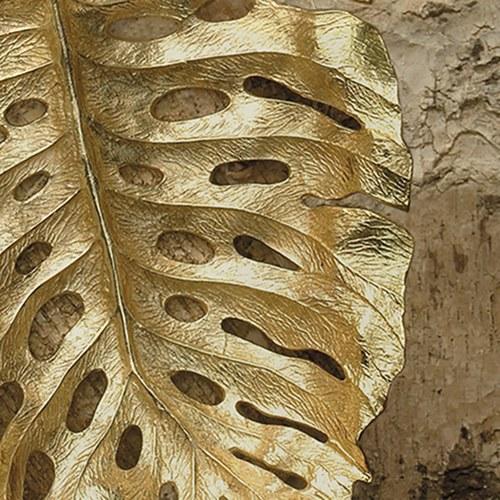 美國MichaelAram工藝飾品 玉蘭葉系列造型托盤 (長57公分)