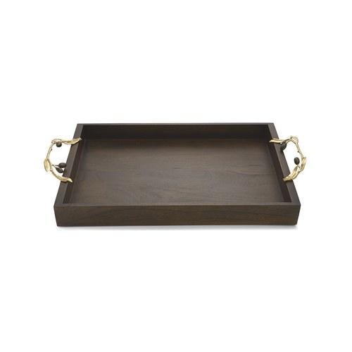 美國MichaelAram工藝飾品 橄欖枝系列長型托盤 (長62公分)