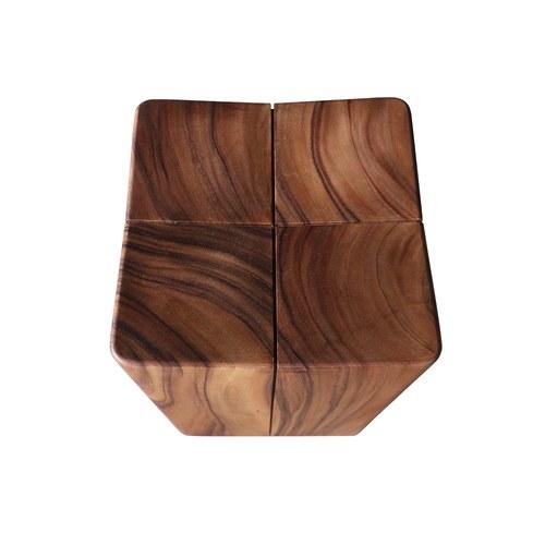 泰國MoonlerCollection 實木組合方形椅凳