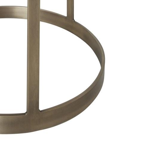 荷蘭PURE 金屬架圓形邊桌 (直徑60公分)