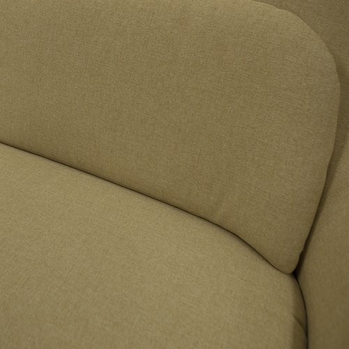 夏馬選物ShiamalSelect 歐風木質緣飾三人沙發 (麻黃)