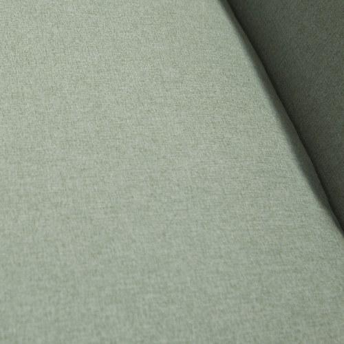 夏馬選物ShiamalSelect 歐風木質緣飾三人沙發 (綠)