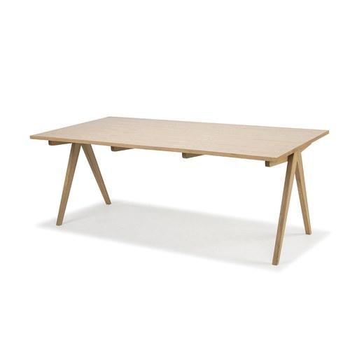 夏馬選物ShiamalSelect 簡約木質V字餐桌