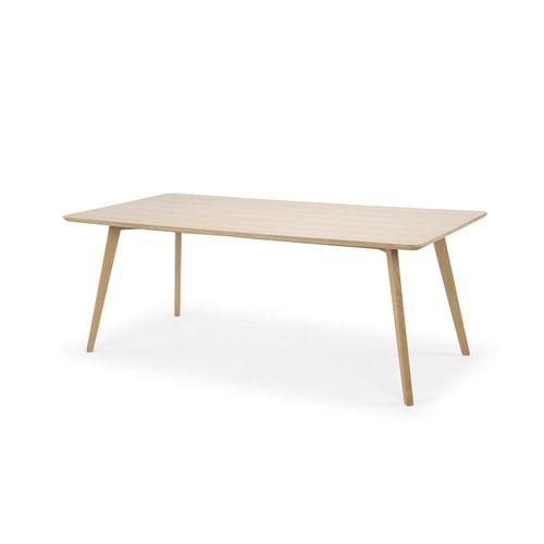夏馬選物ShiamalSelect 簡約木質矩形輪廓餐桌