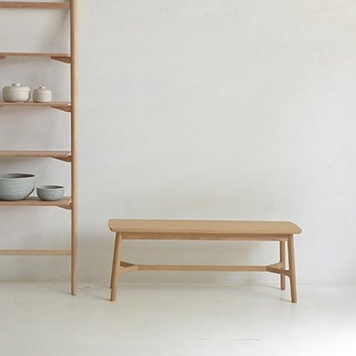 丹麥Sketch 北歐風清新木質長凳 (橡木)