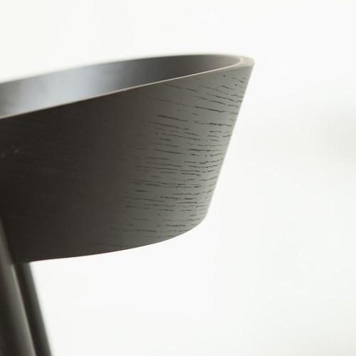 丹麥Sketch 清新弧型品味單椅 (黑)