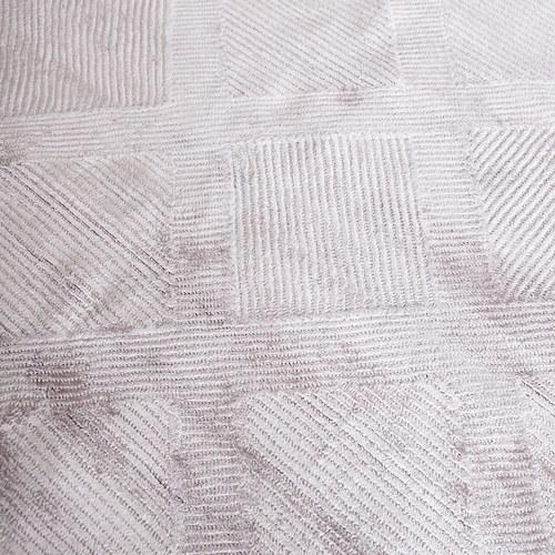土耳其Stepevi 錯落斜格地毯 (淡紫、長300公分)