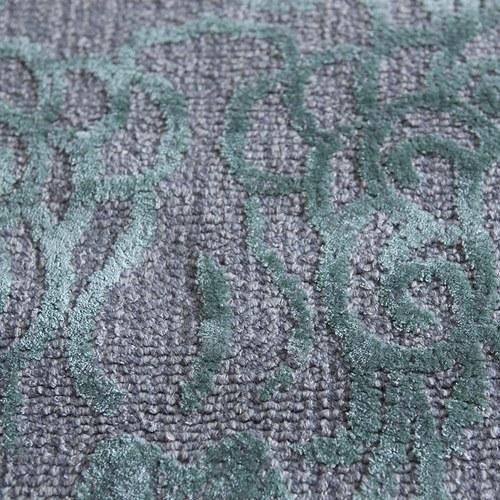 土耳其Stepevi 隱沒織花地毯 (綠、長240公分)