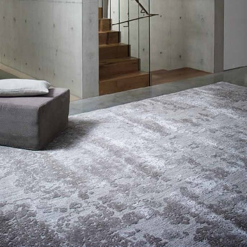 土耳其Stepevi 繁花銀霜地毯 (灰、長240公分)