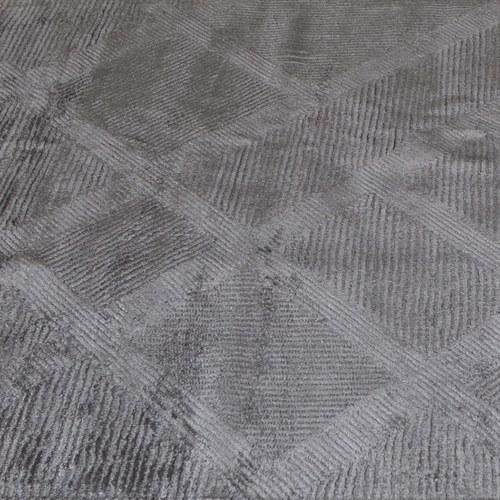土耳其Stepevi 錯落斜格地毯 (鈦灰、長300公分)