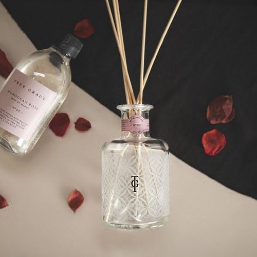 英國TrueGrace室內擴香 N°02 摩洛哥薔薇 (補充瓶)
