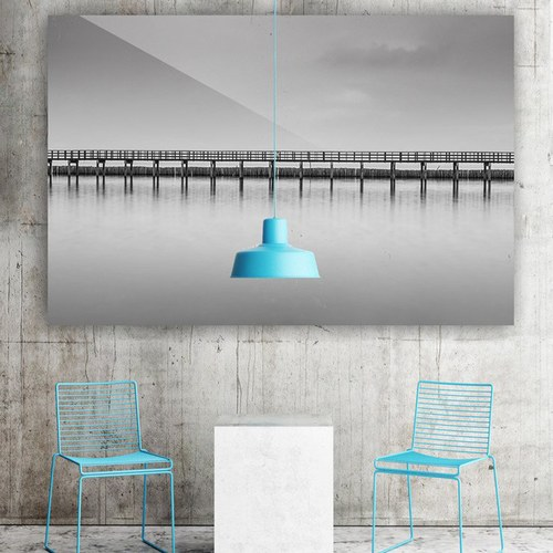 美國TwoPalms藝術掛畫 跨越 (鋁製背板、長114公分)