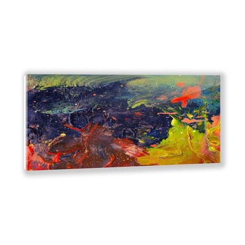 美國TwoPalms藝術掛畫 蒸騰的斑斕色彩 (帆布、長152公分)