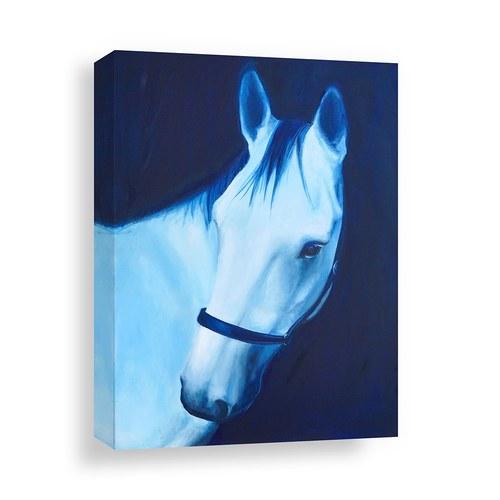 美國TwoPalms藝術掛畫 幻夢森林馬匹 (帆布、長102公分)