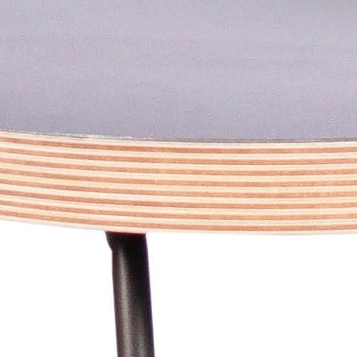 WOHAbeing CRAB螃蟹系列三角吊燈橢圓邊桌 (黑)