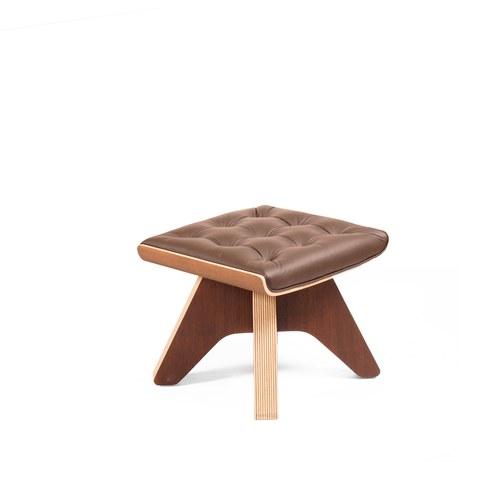 WOHAbeing TURTLE海龜系列休憩椅凳 (棕)