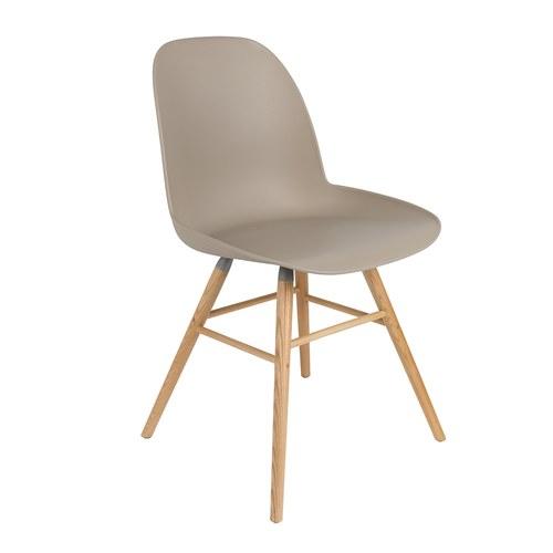 荷蘭Zuiver 艾伯特簡約弧形單椅 (卡其)