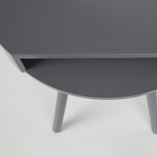 荷蘭Zuiver 切口造型捉迷藏邊桌 (灰)