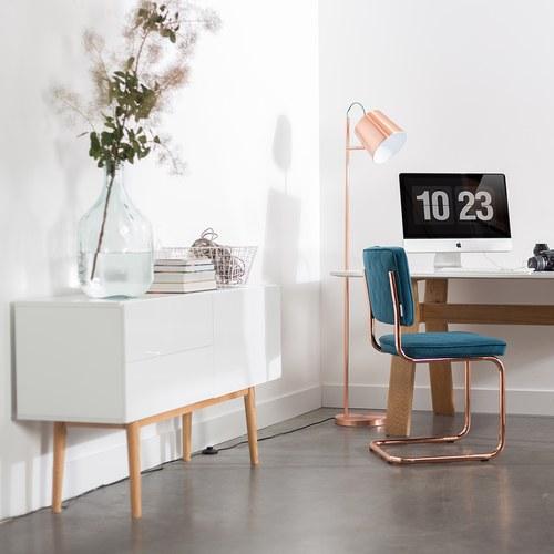 荷蘭Zuiver 鏡面質感白收納櫃 (長120公分)