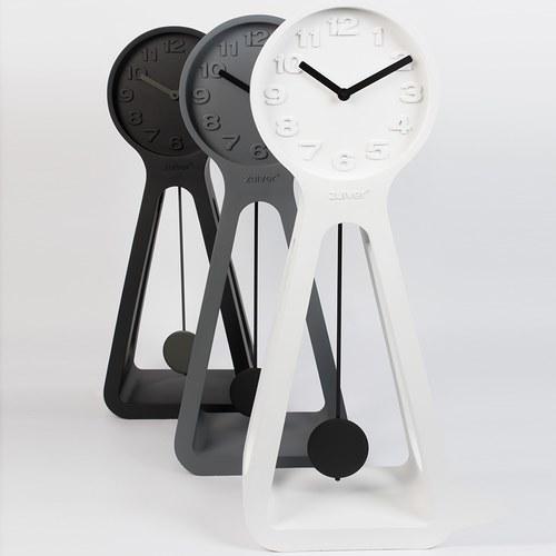 荷蘭Zuiver 極簡品味立鐘 (白、高97.5公分)