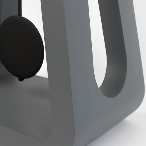 荷蘭Zuiver 極簡品味立鐘 (灰、高97.5公分)