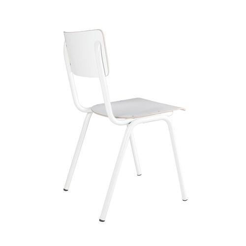 荷蘭Zuiver 返校休閒可堆疊單椅(白)