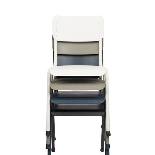 荷蘭Zuiver 返校休閒可堆疊戶外單椅(白)