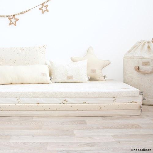 西班牙Nobodinoz有機棉小星星靠枕 (米)