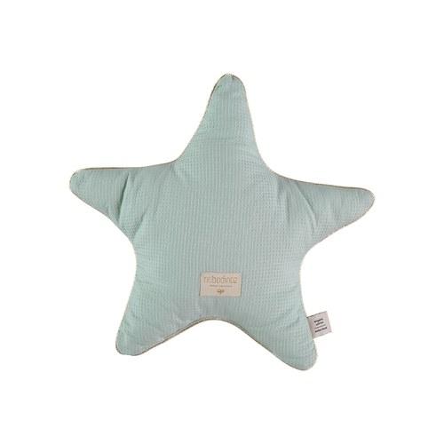 西班牙Nobodinoz有機棉小星星靠枕 (湖水綠)