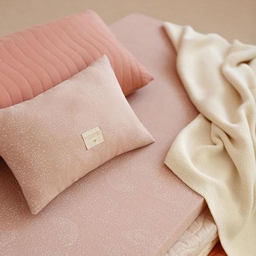 西班牙Nobodinoz有機棉 舒緩靠墊抱枕 (小、迷霧粉泡泡)