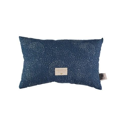 西班牙Nobodinoz有機棉 舒緩靠墊抱枕 (小、星空藍煙火)