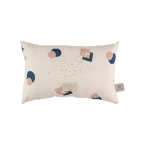 西班牙Nobodinoz有機棉 舒緩靠墊抱枕 (小、藍月小太陽)