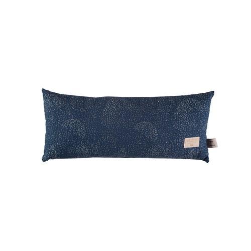 西班牙Nobodinoz有機棉 長形好孕靠枕 (星空藍泡泡)