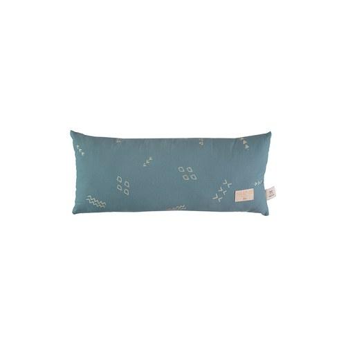 西班牙Nobodinoz有機棉 長形好孕靠枕 (綠色營地探險)
